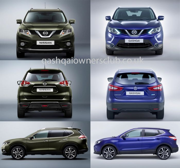 qashqai vs x trail nissan qashqai forums. Black Bedroom Furniture Sets. Home Design Ideas
